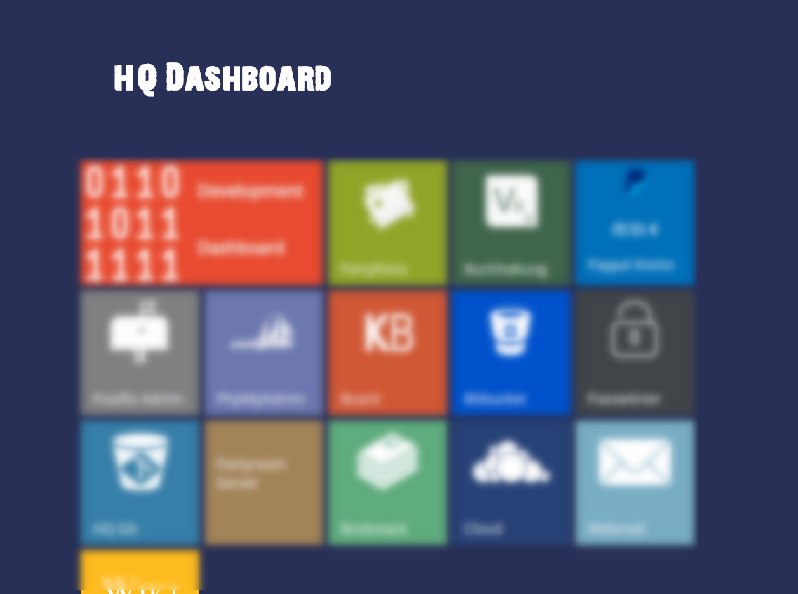 HQ Dashboard