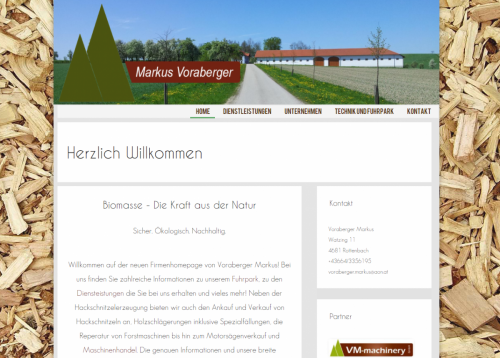 Image of Voraberger Markus Website